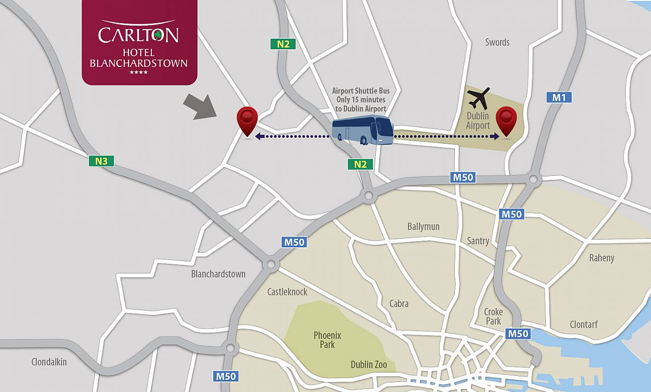 Stay Park And Fly Dublin Airport Carlton Hotel Blanchardstown